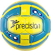 Precision Training Responseball Junior Cyan/Fluo Yellow/Bl