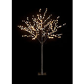 Snowtime 2-Size Globe Tree - Warm White - 180 cm H