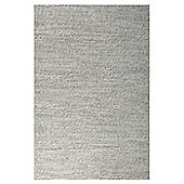 InRUGS River White Mix Woven Rug - 200cm x 140cm (6 ft 6.5 in x 4 ft 7 in)