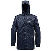 Regatta Mens Pack It Waterproof Breathable Jacket - Navy