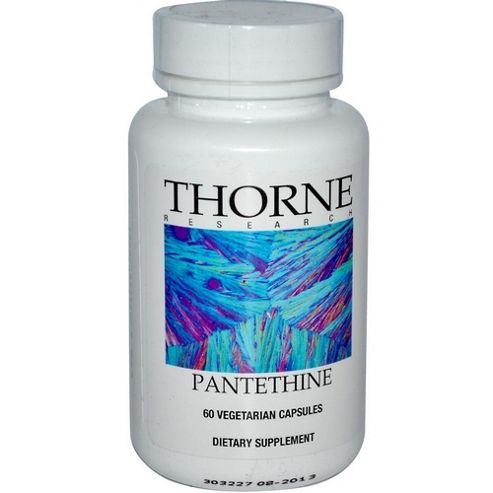 Thorne Research Pantethine 250Mg 60 Veg Capsules