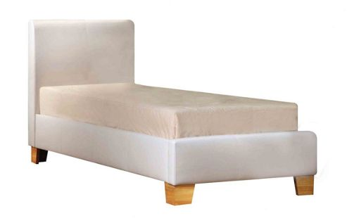 Birlea Brooklyn Bed Frame - Single (3') - White
