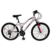 "Muddyfox Kansas 24"" Girls' Front Suspension Mountain Bike"