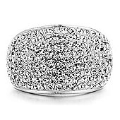 Shimla Ladies Crystal Pave Ring SH-084SM