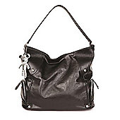 Il Tutto Georgia Hobo Changing Bag Black