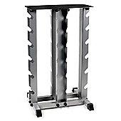 Body Power 4 Tier Vertical Dumbbell Rack