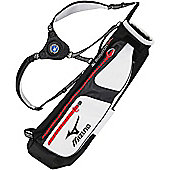 Mizuno Mens Scratch Sac 5 Golf Bag (Pencil) in Blue & White