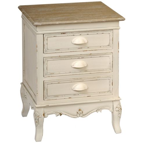 Hill Interiors Country 3 Drawer Bedside Unit