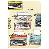 Typewriters A5 Notebook