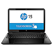 "HP 15-R004NA, 15.6"" Touchscreen Laptop, Intel Pentium, 4 GB RAM, 1TB - Black"