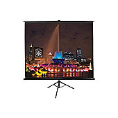 Elite Screens T92UWH 92 inch Tripod Projection Screen 16:9 (View Area: 203cm x 114cm) Max White (Black)