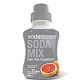 SodaStream Diet Pink Grapefruit Flavour Syrup
