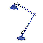 Giant Angle Floor Lamp in Blue
