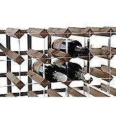 Traditional Wine rack Co Pre- Assembled Wine rack - 12 Bottles - Black Ash