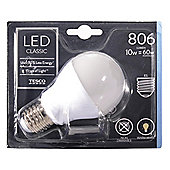 Tesco LED Star Classic 60W E27 Edison Screw Light Bulb