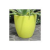Farmet New Orione Alto Round Pot - Green - 50cm H x 50cm W x 50cm D