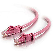 Cables to Go 1 m Cat6 550 MHz Snagless Patch Cable - Pink