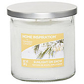 Yankee Candle Sunlight On Snow Medium Tumbler