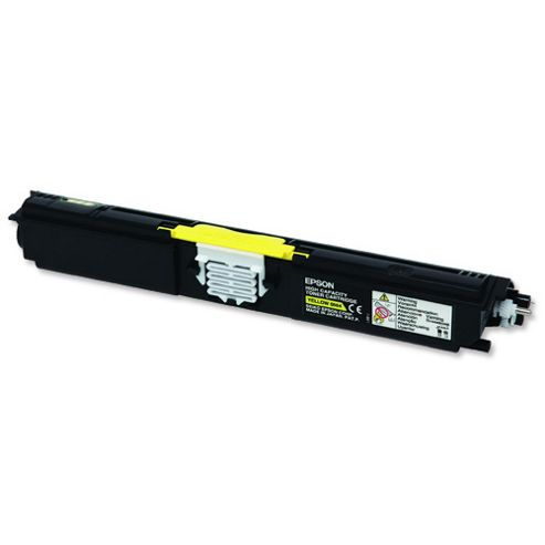 Epson Yellow High Capacity Toner Cartridge (Yield 2700 Pages) for AcuLaser C1600/CX16 Laser Printers