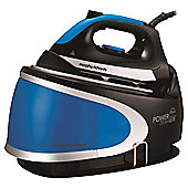 Morphy Richards 330002 Ceramic Plate Steam Generator Iron - Blue & Black