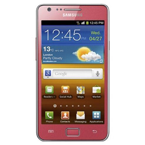 SIM Free Unlocked Samsung Galaxy S II Pink