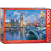 Christmas Eve in London - 1000pc Puzzle