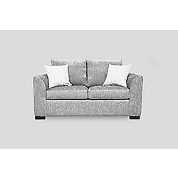 Marquis Two Seater Sofa – Silver