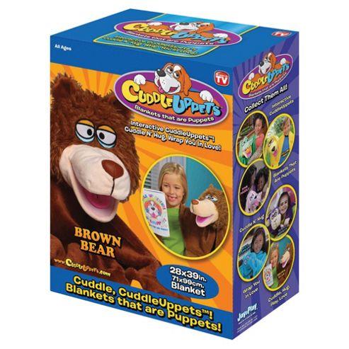 CuddleUpPet - Brown Bear