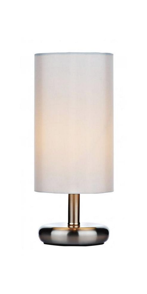 Buy Small Touch Dimmable Satin Chrome Desk Lamp From Our