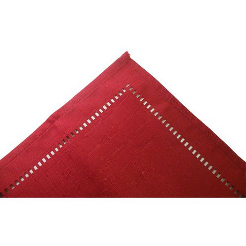 Blue Canyon Sienna Round Table Cloth - Red