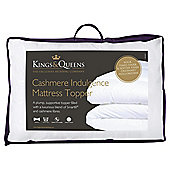 Kings & Queens Superking Mattress Topper - Cashmere Indulgence