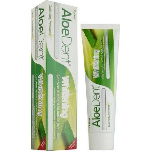 Whitening Aloe Vera Toothpaste with Silica 100ml Toothpaste