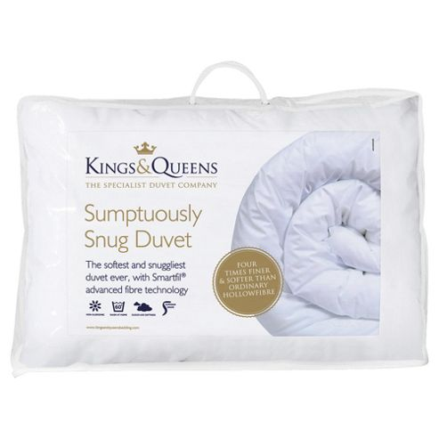 Kings & Queens Sumptuously Snug Duvet, King, 10.5 Tog