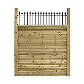 Montford Esprit Fence Panel - 3pack