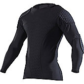 Mcdavid Hexpad Pro Long Sleeve Shirt - Black