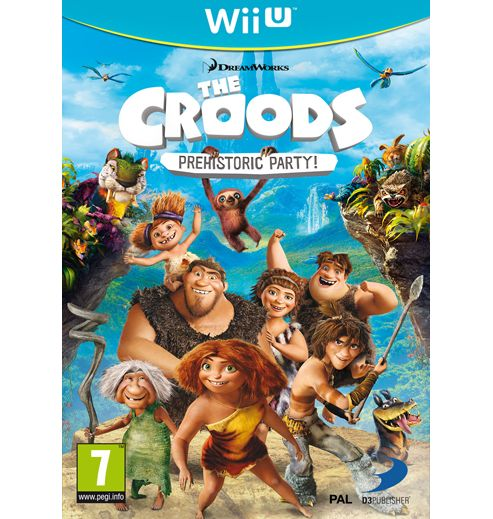 The Croods - Prehistoric Party - Wii U