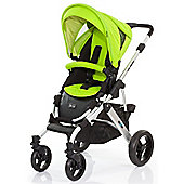 ABC Design Mamba Pushchair - Silver & Lime