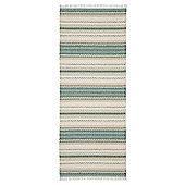 Swedy Malva Green / White Rug - Runner 60 cm x 180 cm (2 ft x 5 ft 11 in)