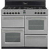 Belling Classic 1100GT 110cm Gas Range Cooker in Silver