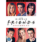 Friends Season 4-7 (DVD)
