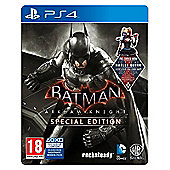 Batman Arkham Knight PS4: Special Edition Steelbook + Wayne Tech Booster Pack DLC (all exclusive to Tesco)