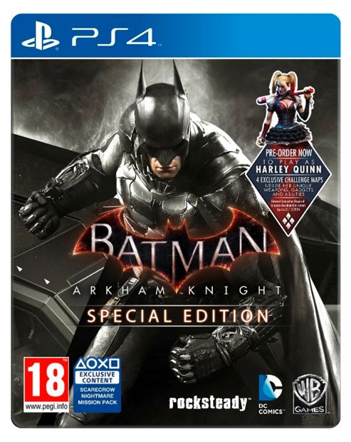 buy batman arkham knight ps4 special edition steelbook