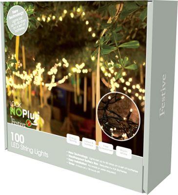 Image of 100 LED Lights, Warm White