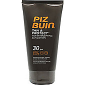 Piz Buin Tan Intensifier In Sun Lotion 150ml SPF 30 High Protection