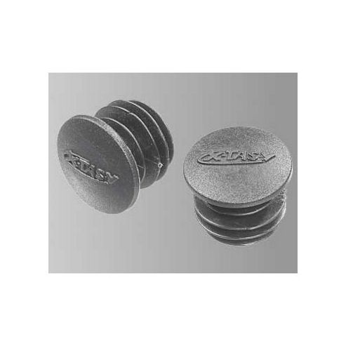X-Tas-Y 22mm Bar End Plugs in Black