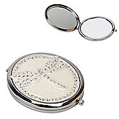 Crystal Dragonfly Compact Mirror