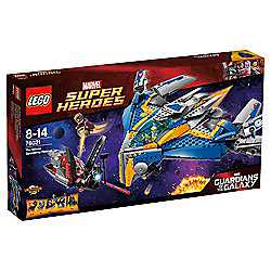 LEGO Marvel Super Heroes Guardians of the Galaxy The Milano Spaceship Rescue 76021