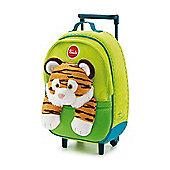 Trudi Kids Backpack Trolley Case - Tiger