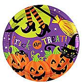 Witches Crew Round Plates 23cm