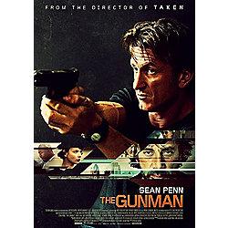 The Gunman Blu Ray